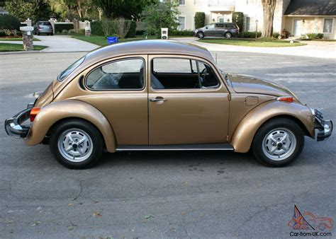 volkswagen gold original rust free low mile survivor 1976 volkswagen