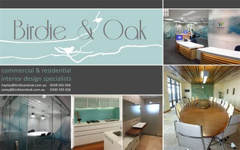 interior design brochure oak design studio