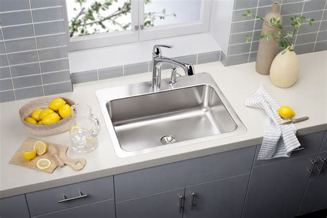 drain kitchen sink elkay kitchen sinks elkay gourmet slim drain bowl drop in stainless steel