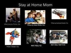 Stay At Home Mom Meme - and then the monster came and ate the little boy the end