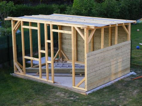 gazebo per cer plan abri jardin abri bois toit plat 20m2 maisondours