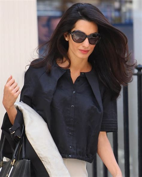 is amal clooney hair one length get amal s blow dry and manicure at michael john london