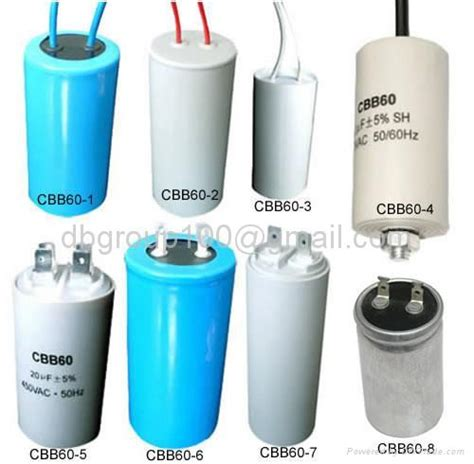 capacitor materials capacitor for lighting air conditioner refrigerator compressor cbb80 bsd oem china