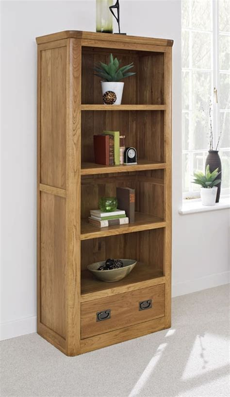 bookcase bedroom furniture dalmore solid oak bedroom furniture large bookcase with drawer ebay