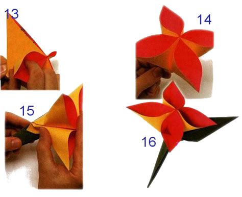 Origami Boutonniere - boutonniere made of paper