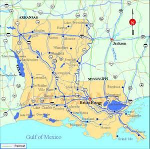 map of louisiana usa louisiana map listings united states