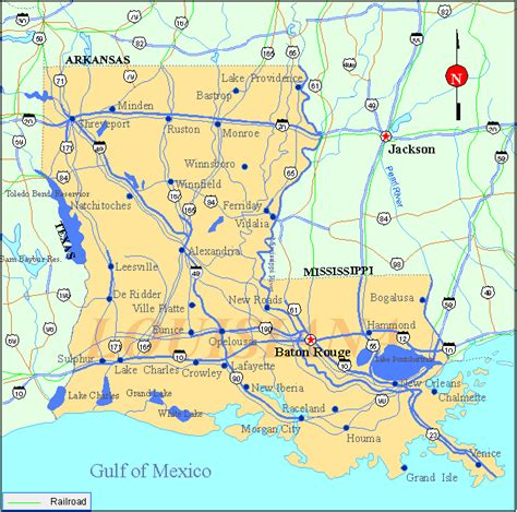 louisiana map usa louisiana usa map bnhspine