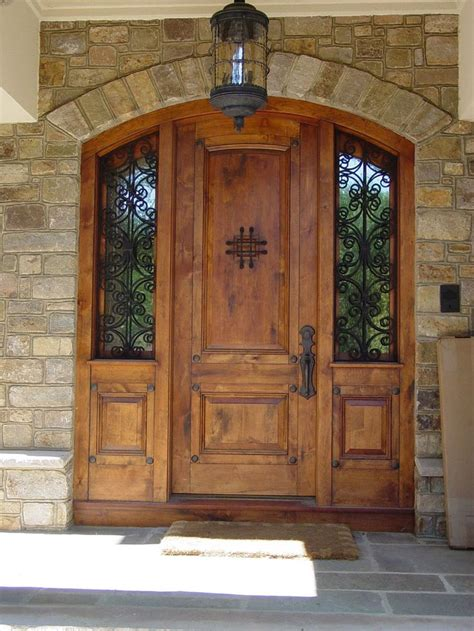 Wood Front Entry Doors With Sidelights 17 Best Ideas About Entry Door With Sidelights On Exterior Doors Exterior Front