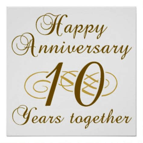 Wedding Anniversary 10th by 10th Anniversary Wishes Wishes Greetings Pictures