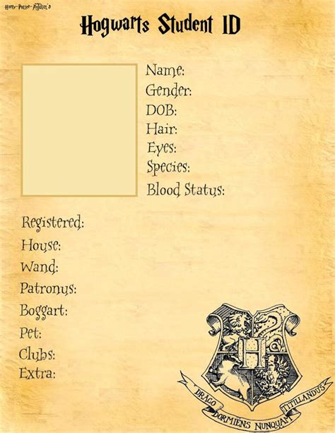 make your own student id card 17 best ideas about hufflepuff students on
