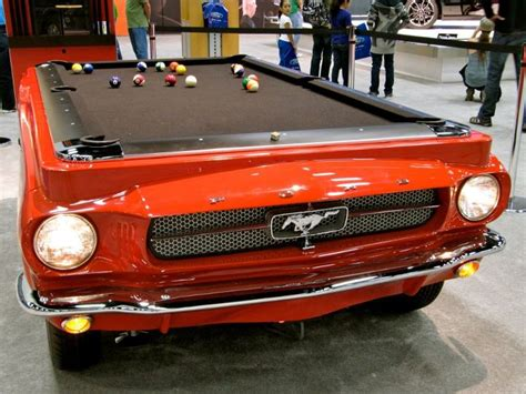 mustang pool table 1965 ford mustang pool table urbasm