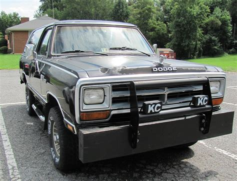 1987 dodge ramcharger overview cargurus