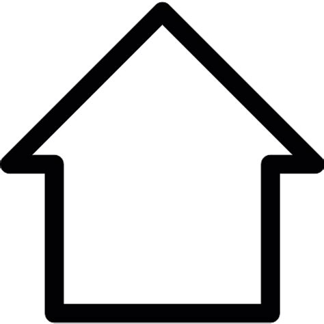 blank home blank home button free buildings icons