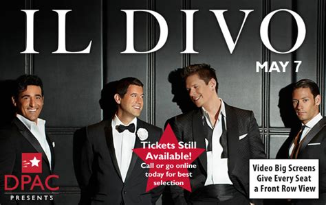 il divo official website il divo dpac official site