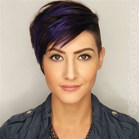 history on asymmetrical short haircut 17 best ideas about pixie highlights on pinterest short