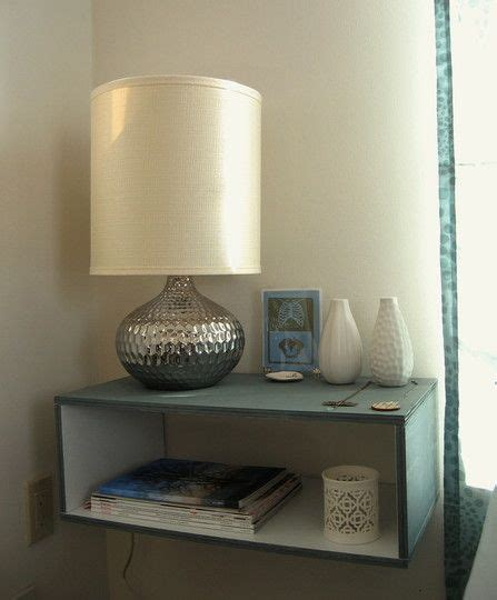 Diy Floating Shelf Nightstand by 17 Best Ideas About Floating Nightstand On