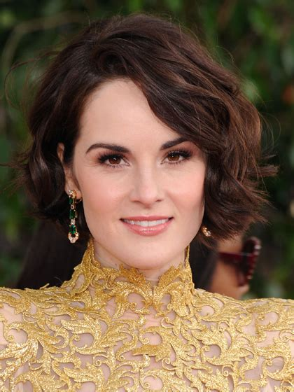 michelle dockery bob stylenoted celebrity hair cuts for the everyday