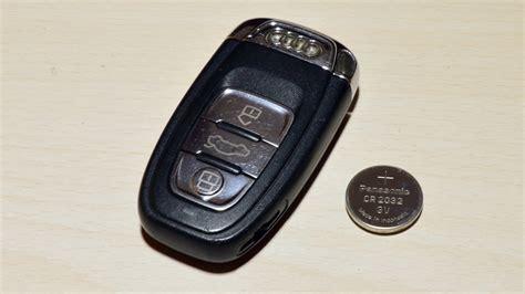 Audi Schl Ssel Batterie by Audi Schl 252 Ssel Batterie Wechseln Auto Bild Idee