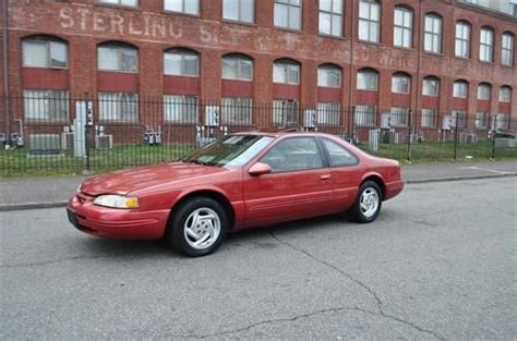 find used 1996 ford thunderbird lx coupe 2 door 4 6l v8 71k original miles clean tbird in newark