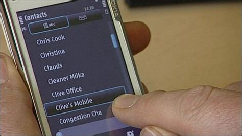 mobile phone contacts news science environment directory enquiry for