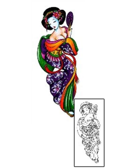 geisha tattoo wiki search