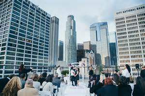 rooftop wedding locations in los angeles wedding celia myrna a bicycle built for two
