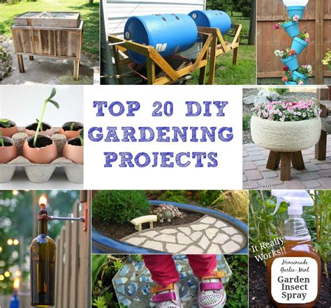 top diy projects top 20 diy gardening projects garden product reviews