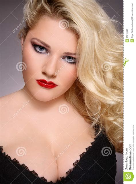 beauty plus plus size beauty royalty free stock photos image 13218968