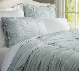 hadley ruched duvet hadley ruched duvet cover sham pottery barn