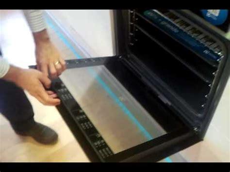 tutorial como desmontar cristales de las puerta hornos aeg electrolux youtube