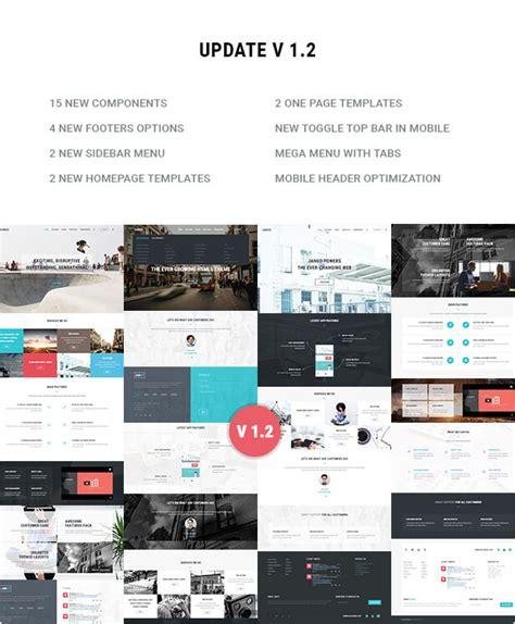 themeforest jango jango responsive multi purpose html5 template site