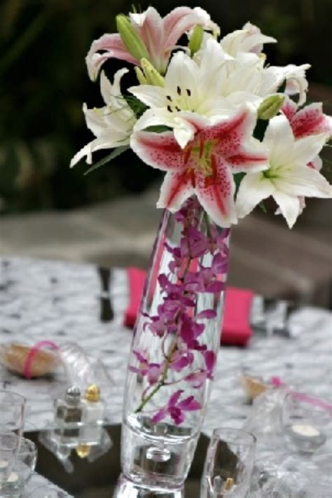 stargazer centerpieces 82 best wedding flowers images on flowers