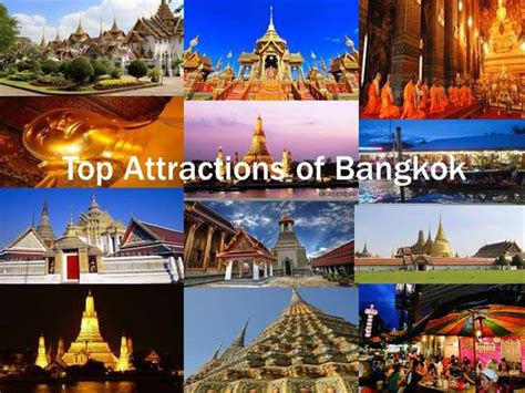 top attractions  bangkok authorstream
