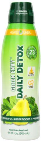 Green Envy Daily Detox Nutrition by Agro Labs Green Envy Daily Detox Healthy Hair Skin And