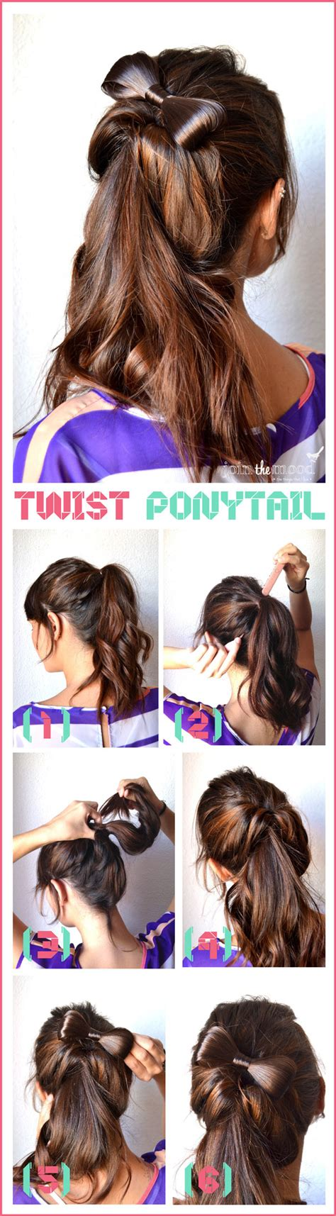 diy hairstyles ponytail 10 fabulous diy hairstyles with hair accessories pretty