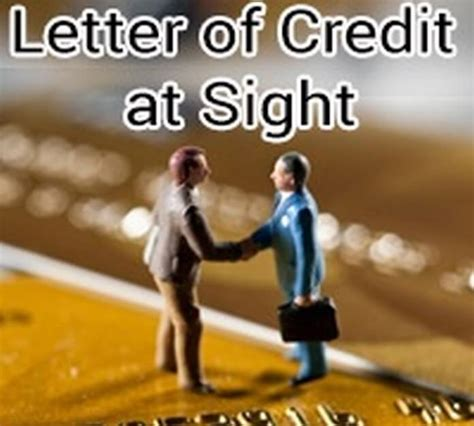 Letter Of Credit Payable At Sight Credit Letter