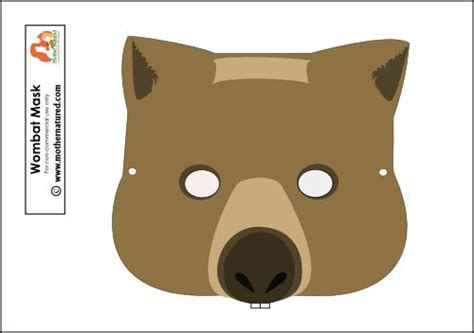printable emu mask 17 best images about wombat stew on pinterest stew emu