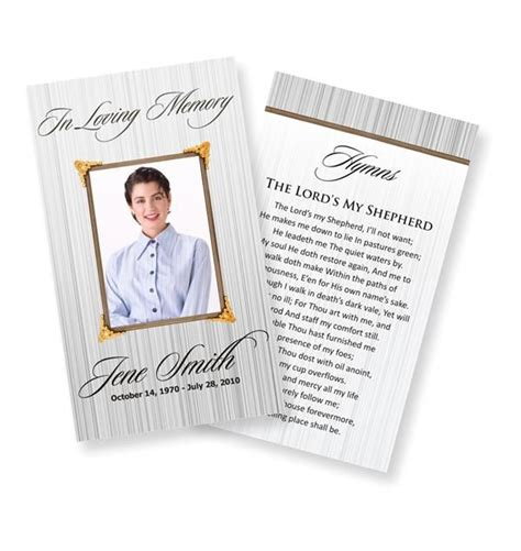 Prayer Card Template Free by Funeral Prayer Cards Catholic Funeral Prayer Cards