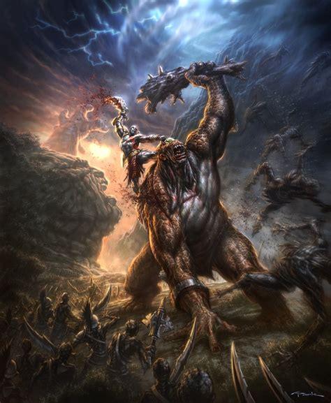 imagenes mitologicas de zeus sobre god of war fotos do god of war