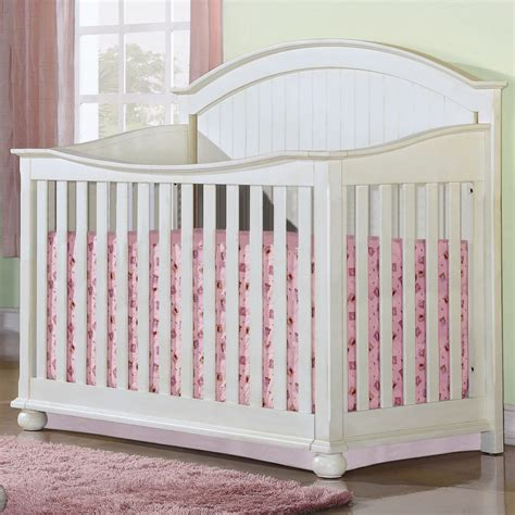 Creations Crib by Creations Southport Collection Convertible Crib W Guard Rail