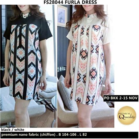 Baju Dress Import Bangkok Saku furla dress supplier baju bangkok korea dan hongkong premium quality import thailand