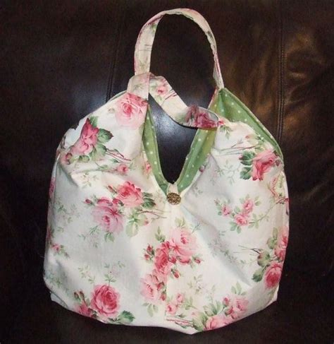Etsy Handmade Bags - handmade floral country tote bag