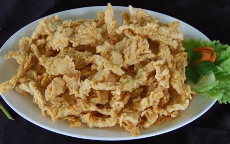 resep  membuat keripik jamur tiram crispy  renyah