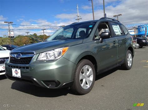 green subaru forester 2015 2015 green metallic subaru forester 2 5i 98502521