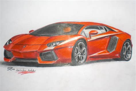 lamborghini aventador drawing lamborghini aventador drawings in pencil