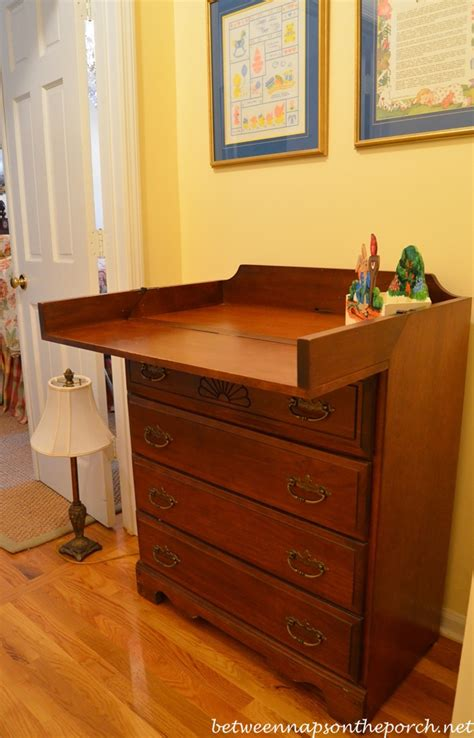 Childcraft Changing Table Mystery Renovation By A Previous Homeowner