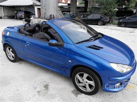 peugeot cabriolet 206 peugeot 206 2005 cc 1 6 in kuala lumpur automatic