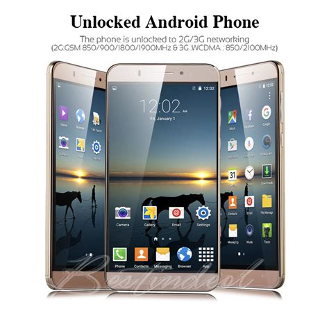 how to carrier unlock android phone new 6 inch unlocked android 5 1 2sim gsm gps 3g smartphone us ebay