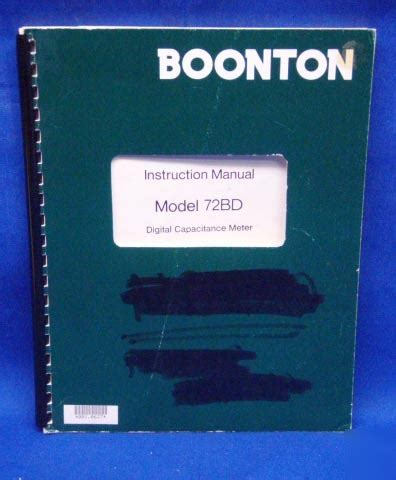 capacitance meter boonton boonton 72bd dig capacitance meter manual w schematic