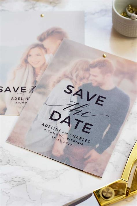 country save the dates invitations by dawn